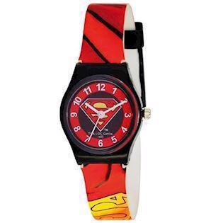 Superman Sort plast Quartz Drenge ur fra AM:PM, S53300-818