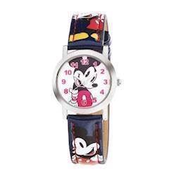 Micky Mouse rustfri stål Quartz Drenge ur fra Club Time, DP140-K229