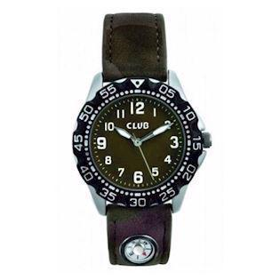 kompas Chrom Quartz dreng ur fra Club Time, A56533S12A